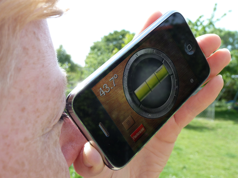 How To Calculate Tree Height Using A Smartphone Gabriel Hemery - Elevation finder app