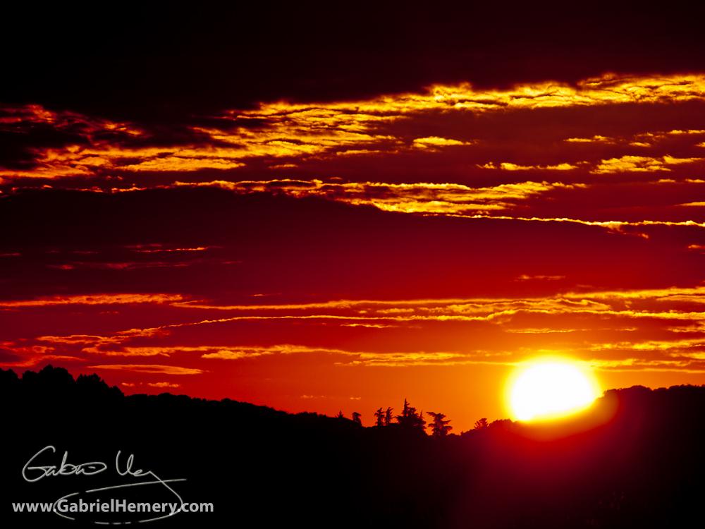 Sunrise in the Cevennes